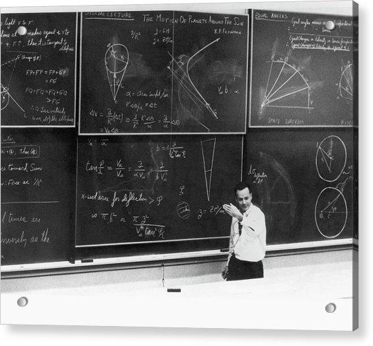 Richard Feynman Acrylic Print