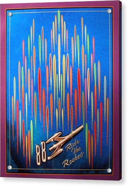 Ride The Rocket 88 Acrylic Print