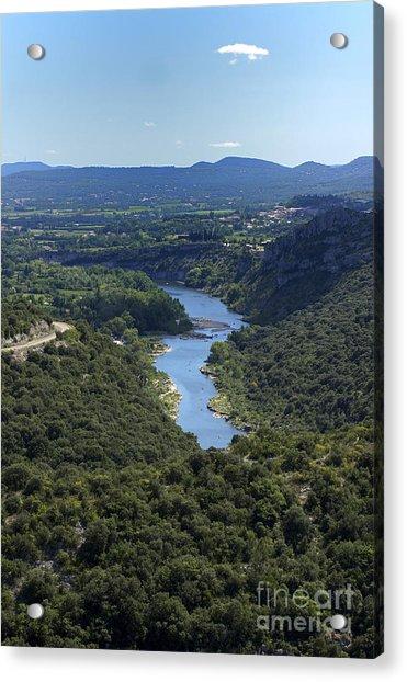 River Ardeche. France Acrylic Print