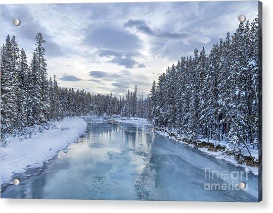 River Of Ice Acrylic Print