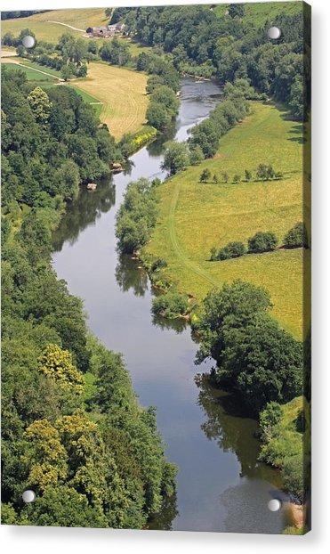 River Wye Acrylic Print