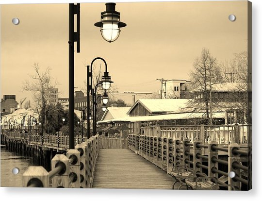 Acrylic Print featuring the photograph Riverfront by Cynthia Guinn