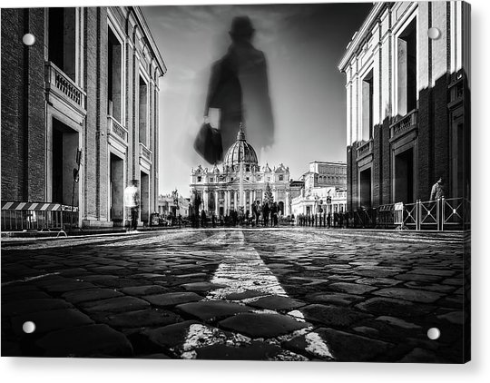 Road To St.peter Acrylic Print