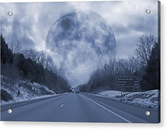 Road To The Horizon Acrylic Print