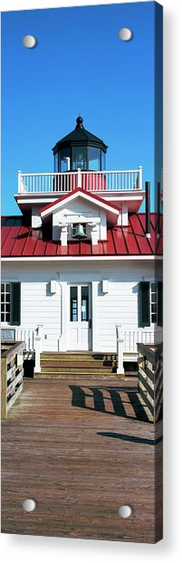 Roanoke Marshes Lighthouse, Outer Acrylic Print