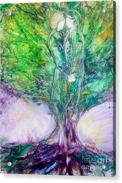 Rooted In Love Acrylic Print