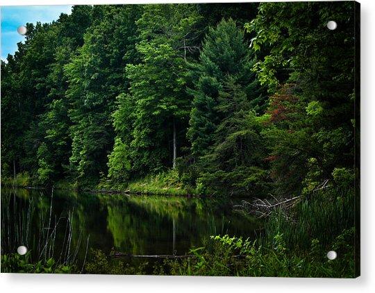 Rose Lake Beauty Acrylic Print