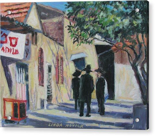 Sabbath In Jeruselem Acrylic Print