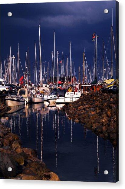 Acrylic Print featuring the photograph Samsoe Island Denmark by Colette V Hera  Guggenheim