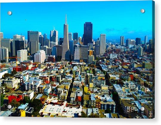 San Fran Colors Acrylic Print