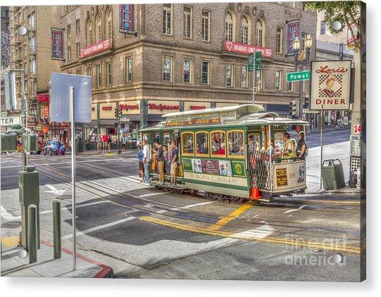 San Francisco Cable Car Acrylic Print