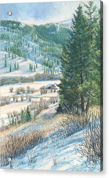San Poil Valley  Acrylic Print