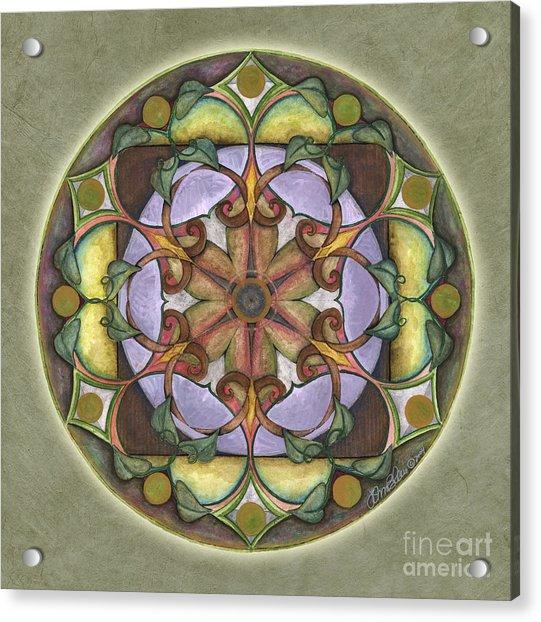 Sanctuary Mandala Acrylic Print