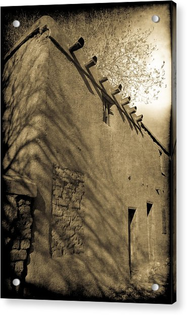 Santa Fe Adobe Acrylic Print