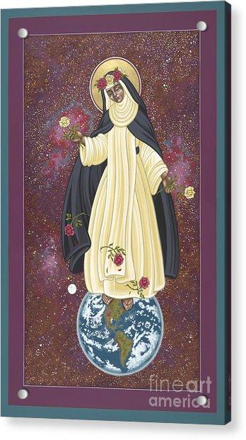 Santa Rosa Patroness Of The Americas 166 Acrylic Print