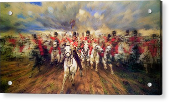 Scotland Forever During The Napoleonic Wars Acrylic Print