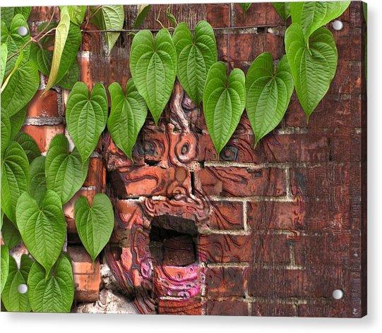 Screaming Wall Acrylic Print
