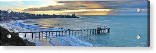 Scripps Pier - To The Point Acrylic Print