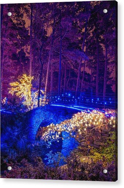 Stone Bridge - Crop Acrylic Print
