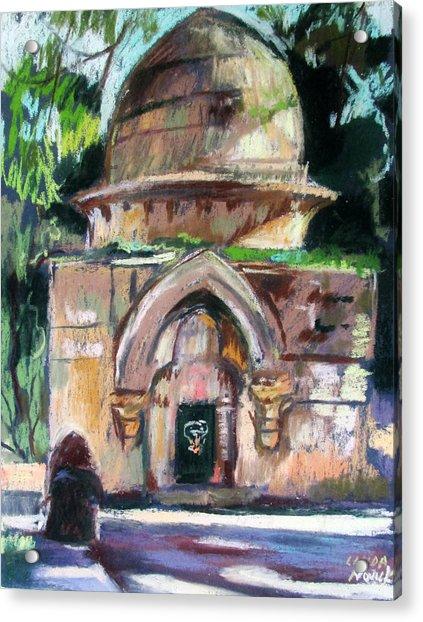 Secret Jerusalem Temple Acrylic Print