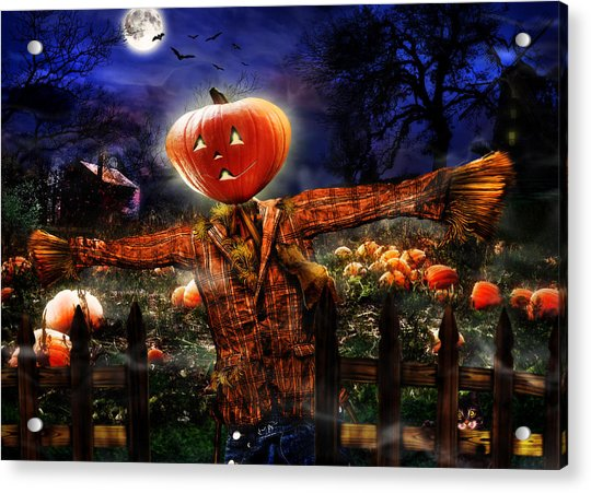 Secrets Of The Night Acrylic Print