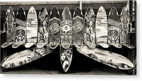 Sector9 Seat On The Board Acrylic Print