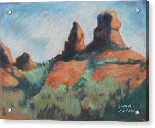 Sedona Sisters Acrylic Print