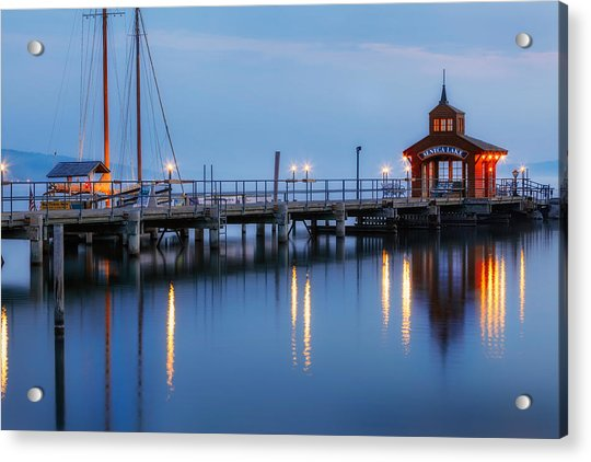 Seneca Lake Acrylic Print