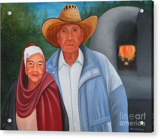 Senor Y Senora Sanchez Acrylic Print