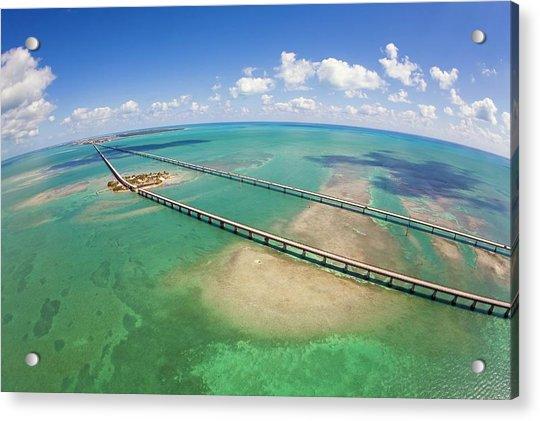 Seven Mile Bridge Acrylic Print