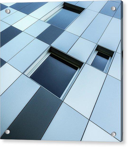 Shades Of Blue Acrylic Print by Luc Vangindertael (lagrange)