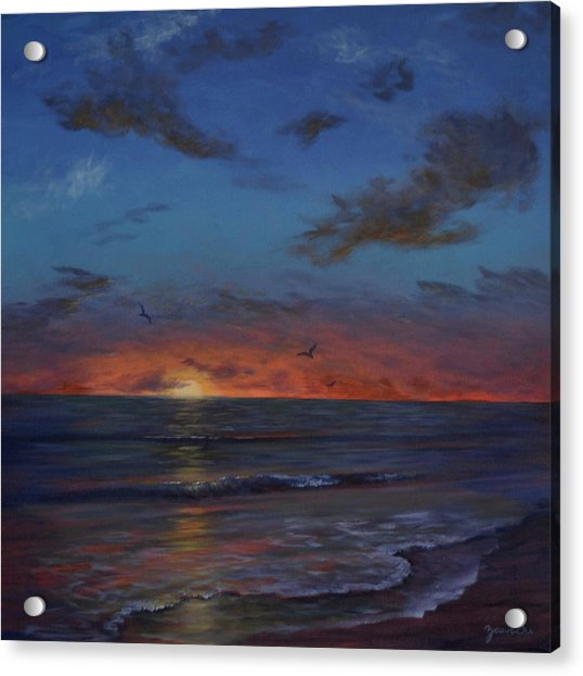 Siesta Key Sunset Acrylic Print