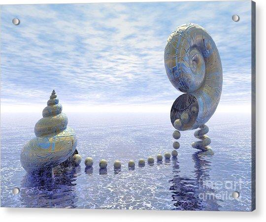 Silent Love - Surrealism Acrylic Print
