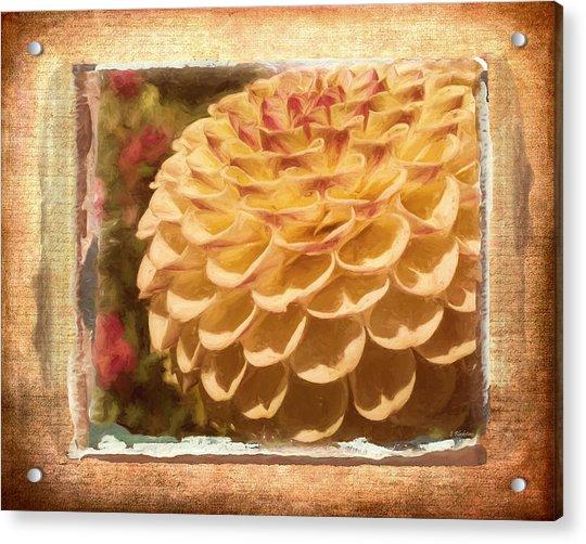 Simply Moments - Flower Art Acrylic Print
