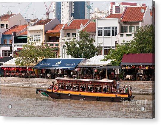 Singapore Boat Quay 04 Acrylic Print