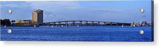 Singer Island Bridge Acrylic Print