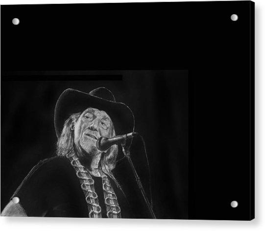 Singing Willie Acrylic Print