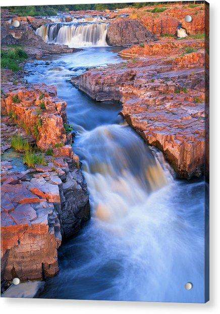 Sioux Falls Acrylic Print