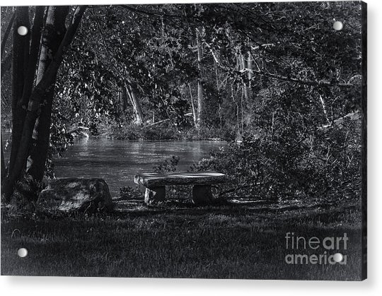 Sit And Ponder Acrylic Print