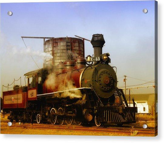 Skunk Train Acrylic Print