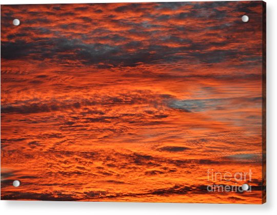 Sky Fire  Acrylic Print