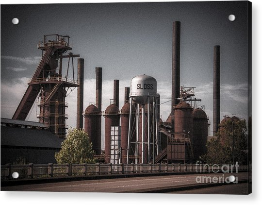 Sloss Furnaces Acrylic Print