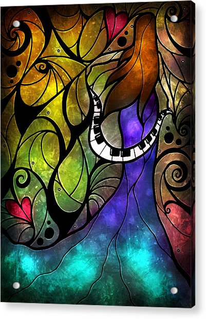 So This Is Love Acrylic Print