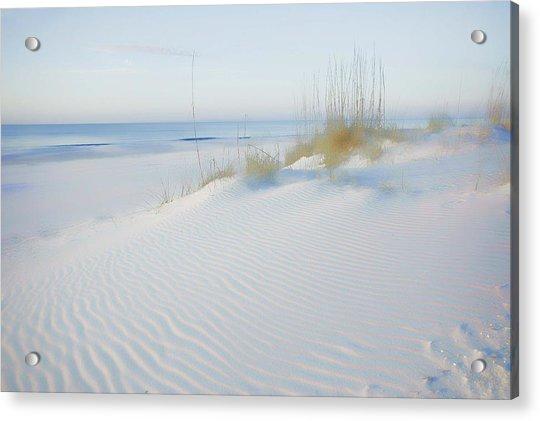 Soft Sandy Beach Acrylic Print