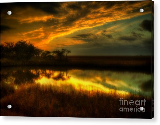 Soft Sunset Acrylic Print