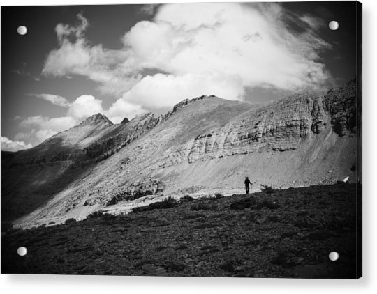 Solitude Below Sperry Glacier Acrylic Print