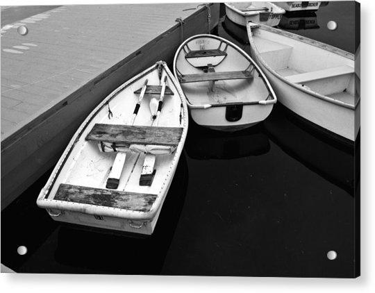 Sorrento Harbor Boats 2 Acrylic Print
