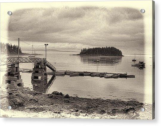 Sorrento Harbor Boats 4 Acrylic Print