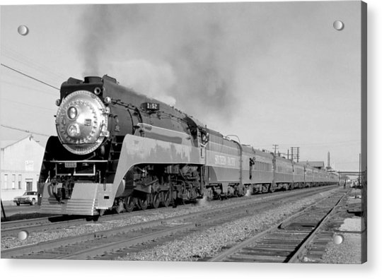 Southern Pacific Train In Texas Acrylic Print
