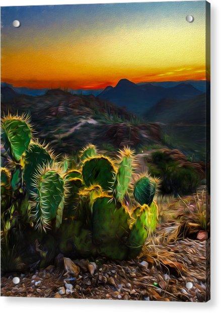 Southwestern Dream Acrylic Print